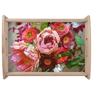 花花束、トレイ トレー
