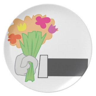 花花束 プレート