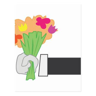 花花束 ポストカード