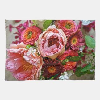 花花束、台所タオル キッチンタオル