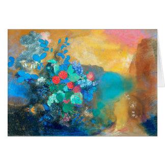 花間のオフェリア|オディロン・ルドン カード