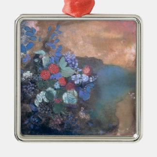 花間のオフェリア、c.1905-8 メタルオーナメント