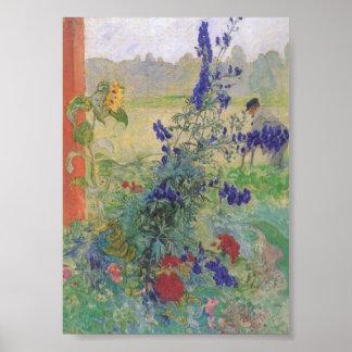 花1909年を持つ祖父 ポスター