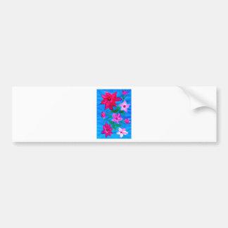 花2の花束 バンパーステッカー