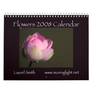 花2008のカレンダー カレンダー