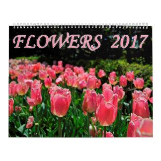 花2017年 カレンダー