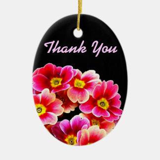 花、ありがとう セラミックオーナメント