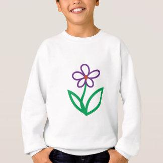 花 スウェットシャツ