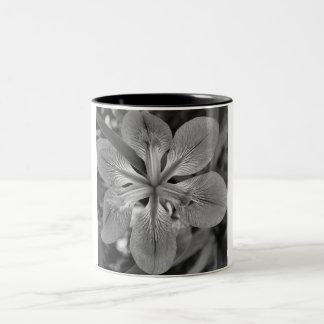 花 ツートーンマグカップ