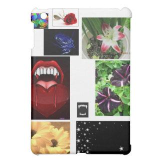 花、牙および星! iPad MINI CASE