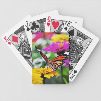 花#2の蝶 バイスクルトランプ