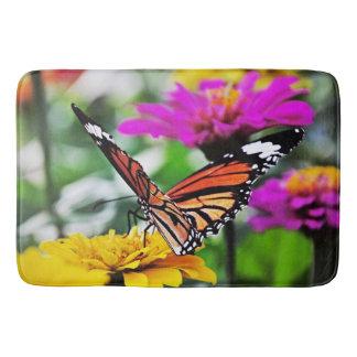 花#2の蝶 バスマット