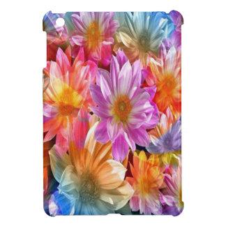 花 iPad MINI カバー