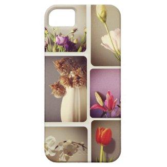 花 iPhone 5 カバー