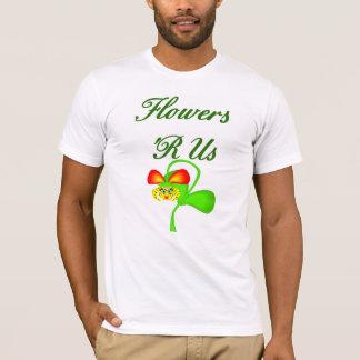 花R私達花屋のTシャツ Tシャツ