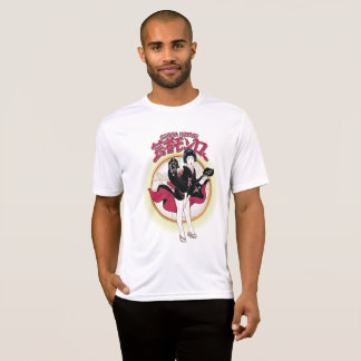 芸者のモンローのスポーツTekの競争相手のTシャツ Tシャツ