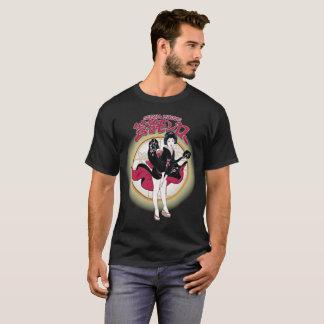 芸者のモンローの男性基本的な暗いTシャツ Tシャツ