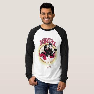 芸者のモンローの長袖のRaglanのTシャツ Tシャツ