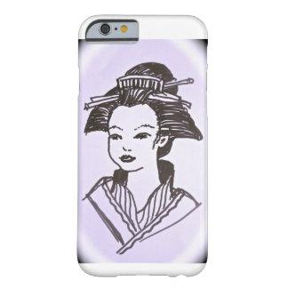 芸者の女性 BARELY THERE iPhone 6 ケース