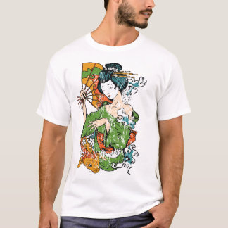 芸者のTシャツ Tシャツ