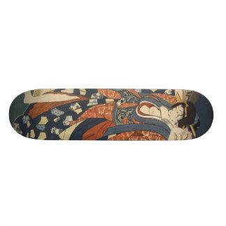 芸者女の子のスケートボード スケートボード