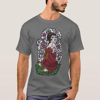 芸者女の子 Tシャツ
