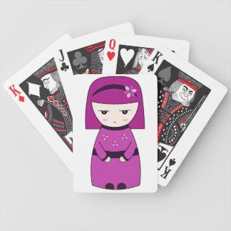 芸者-カードを遊ぶこと バイスクルトランプ
