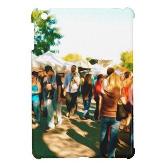 芸術および技術ブースへの群集の歩行 iPad MINIケース