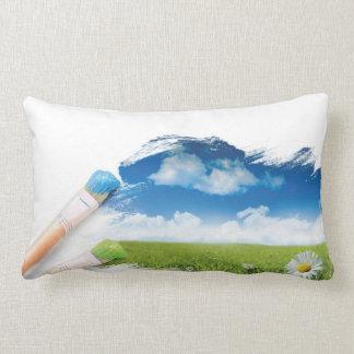 芸術および自然の枕 ランバークッション