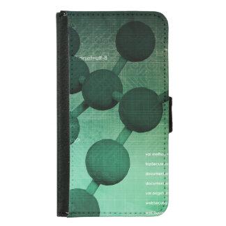 芸術として医学研究そして企業のな技術 GALAXY S5 ウォレットケース