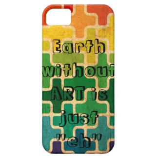 芸術のない地球 iPhone SE/5/5s ケース
