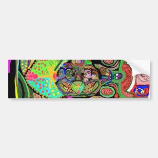 芸術のグラフィック・デザインnの美術のギフト バンパーステッカー