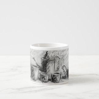 芸術のコーヒー エスプレッソカップ