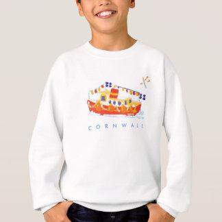 芸術のスエットシャツ: Falmouthのフェリーボート、コーンウォール スウェットシャツ