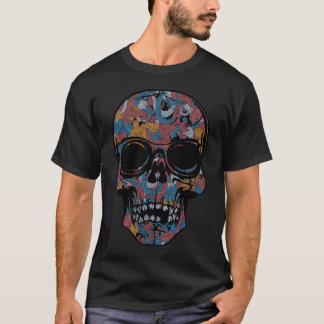 芸術のスカル Tシャツ