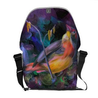 芸術のデザインのバッグ クーリエバッグ