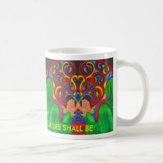 芸術のデザインのマグの思考は繰返しを作成します コーヒーマグカップ