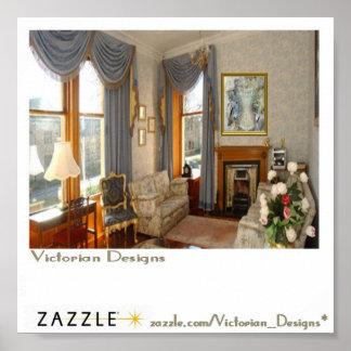 芸術のビクトリアンなサンプル ポスター