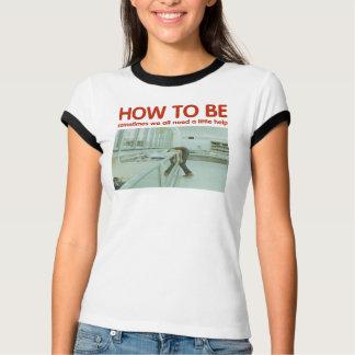 芸術のフリーザーの女性の信号器のTシャツがある方法 Tシャツ