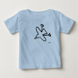 芸術のベビー: ジョンのダイアーのカモメのスケッチ ベビーTシャツ