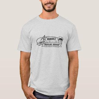 芸術のラミレスのマフラーサービス Tシャツ