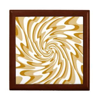 芸術のレトロの渦巻の波の抽象芸術 ギフトボックス