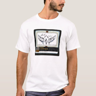 芸術のレリーフ、浮き彫り: 開放されたTシャツの天使 Tシャツ