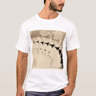 芸術の上のキャバレーのダンサーPinの撮影 Tシャツ