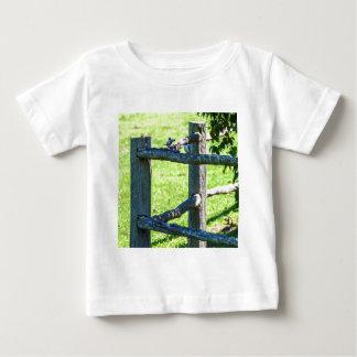 芸術の効果のカワセミのオーストラリア ベビーTシャツ