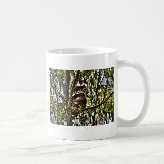 芸術の効果の木オーストラリアのコアラ コーヒーマグカップ