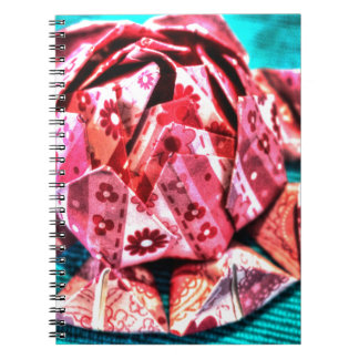 芸術の効果のORIGAMIの花 ノートブック