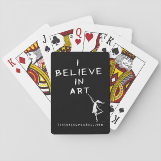 芸術の妖精: 私は芸術の昇進の価値で信じます トランプ