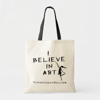 芸術の妖精: 私は芸術の昇進の価値で信じます トートバッグ