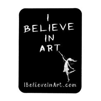 芸術の妖精: 私は芸術の昇進の価値で信じます マグネット
